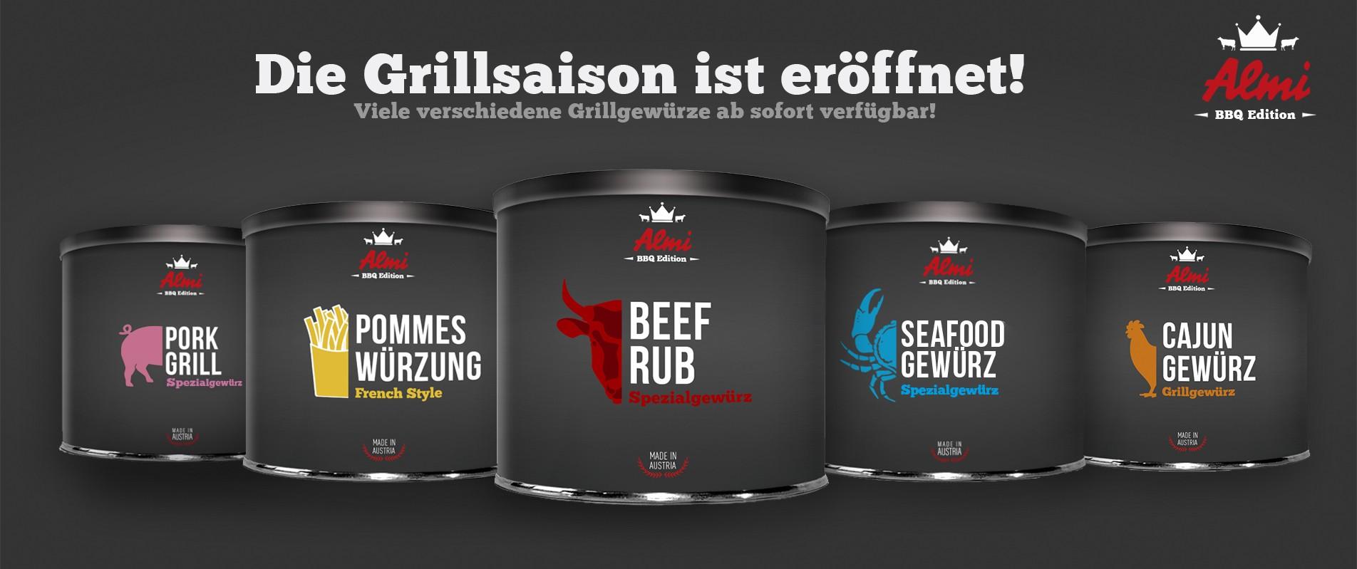 Almi Gewürze Online Shop Grillen