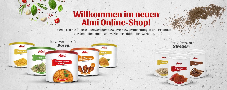 Almi Online Shop Köstlichkeiten